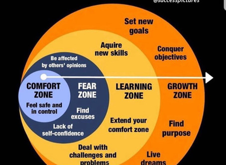 "When your ""Comfort Zone"" becomes a problem."
