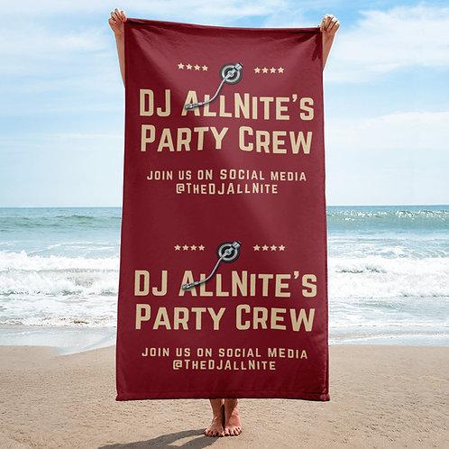 Party Crew Towel