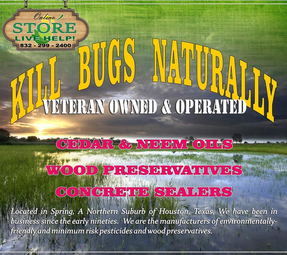 Cedar & Neem Oils to Kill BugsNaturally