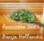 Traditionele Russische Banja in Zevenaar Gelderland Nederland