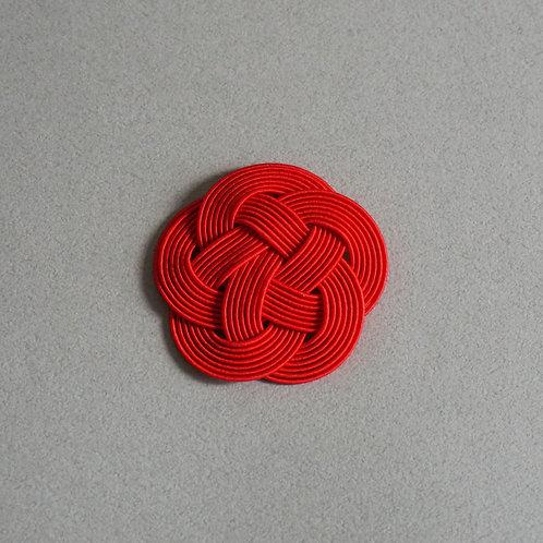 平梅結び 7本どり(赤)