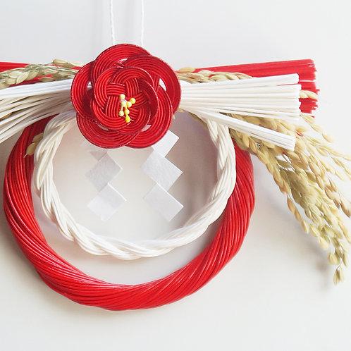 お正月飾り 小 梅(赤)