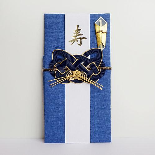 ご祝儀袋 猫(紺)