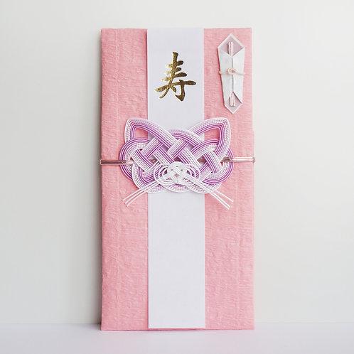 ご祝儀袋 猫(淡紫)