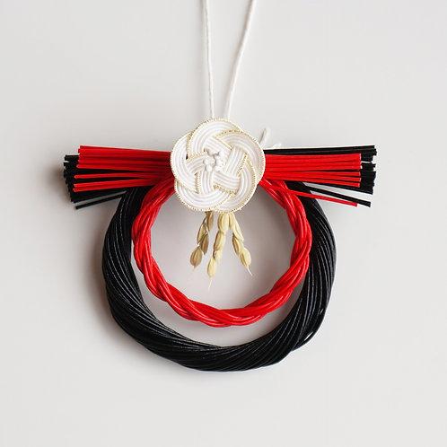 お正月飾り 極小 梅(黒)