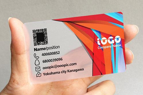 1000 unid. - Cartão de visita somente frente