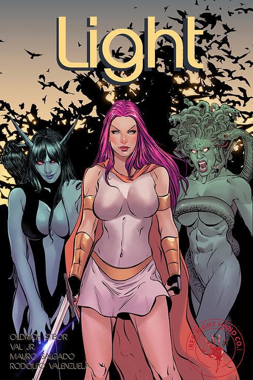 Light # 1 40 page dark fantasy epic (retail cover)