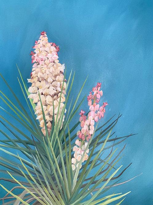 Yucca Blooms Print