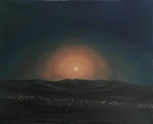 Moonrise Over Alpine
