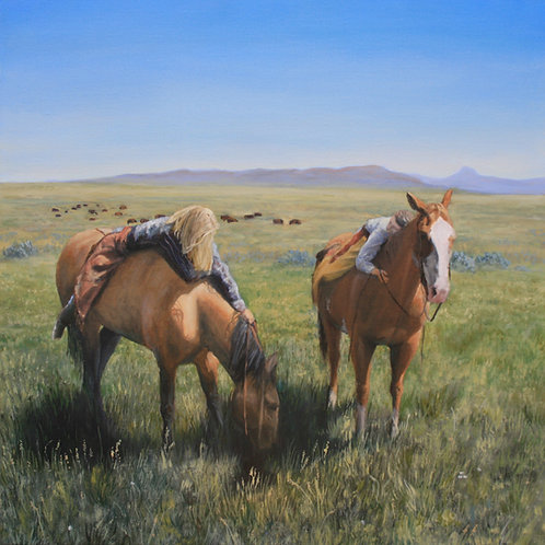 'Out To Pasture' Print