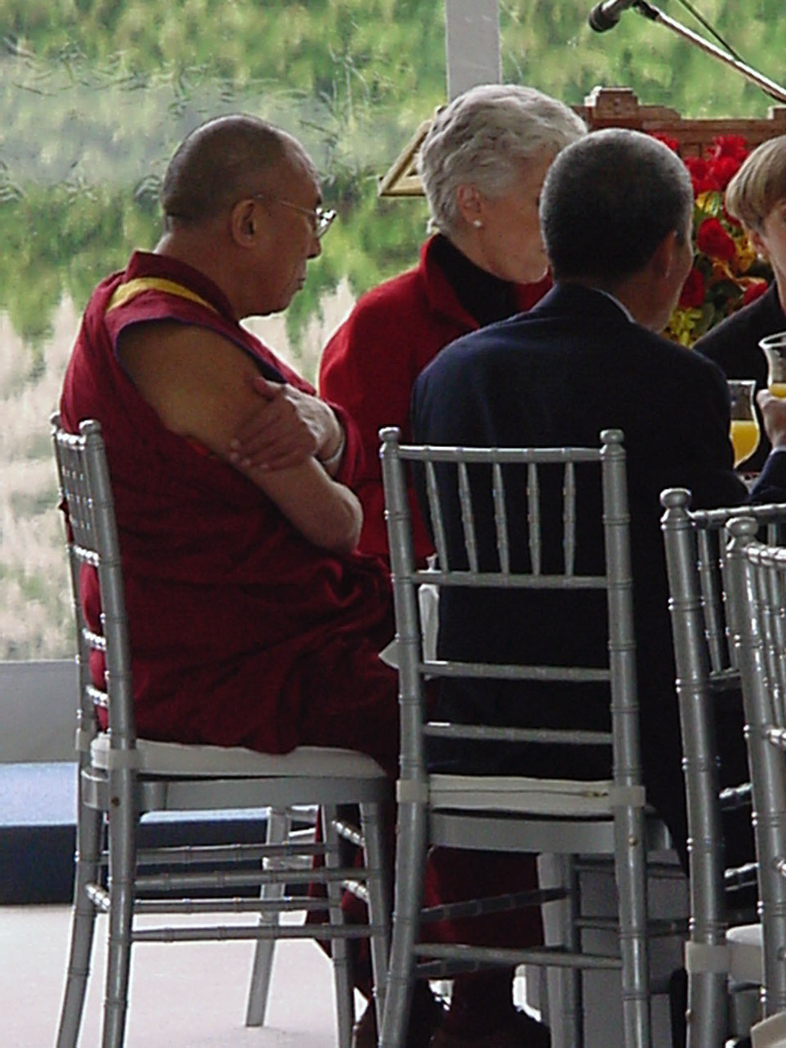 Dalai Lama Lunch