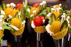 Salad Cornets