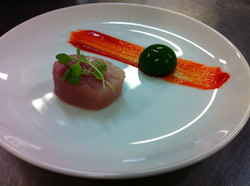 Tuna confit