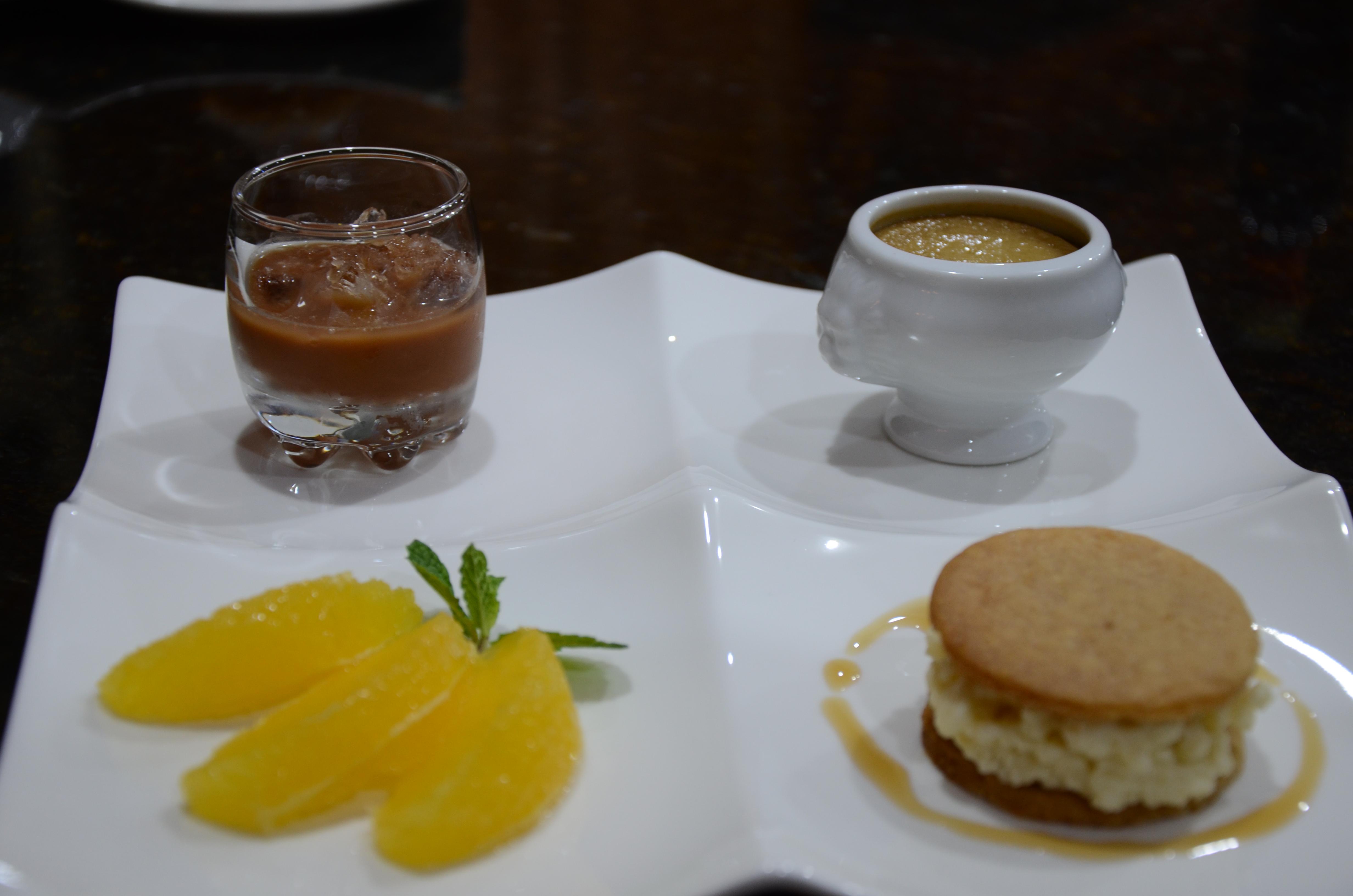 Four Square dessert
