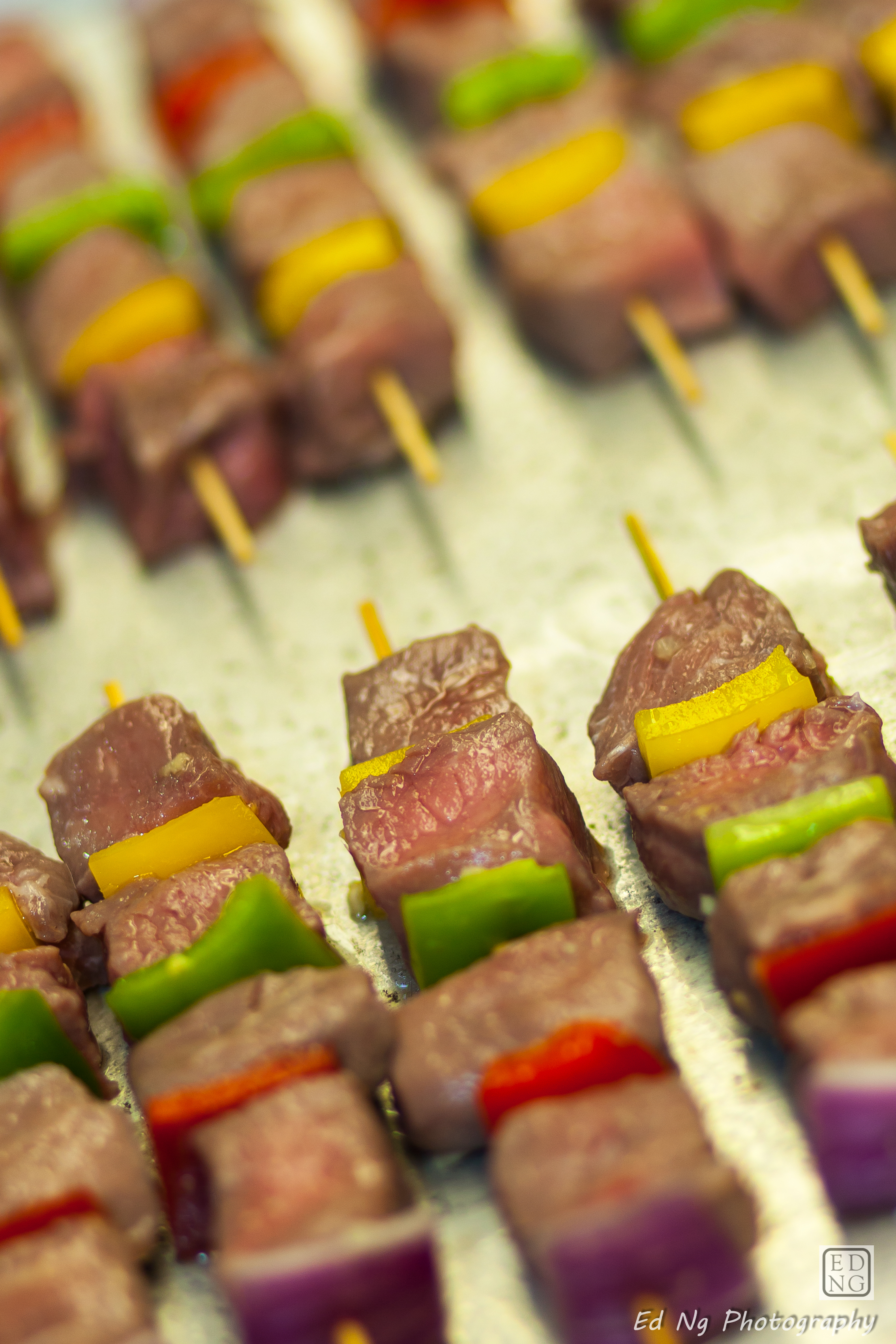 Skewers for BBQ