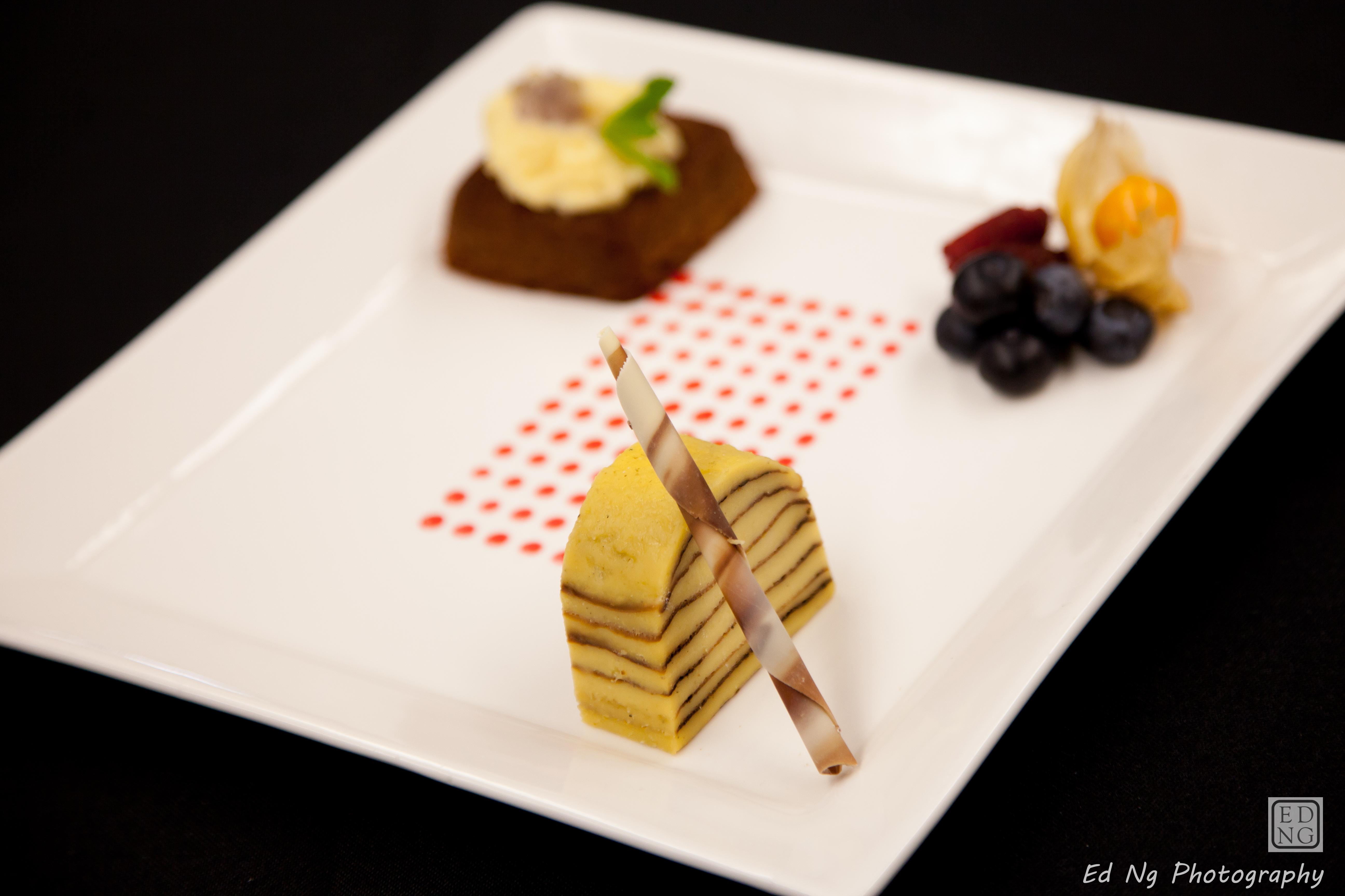Bibinca, chai spice chocolate cake