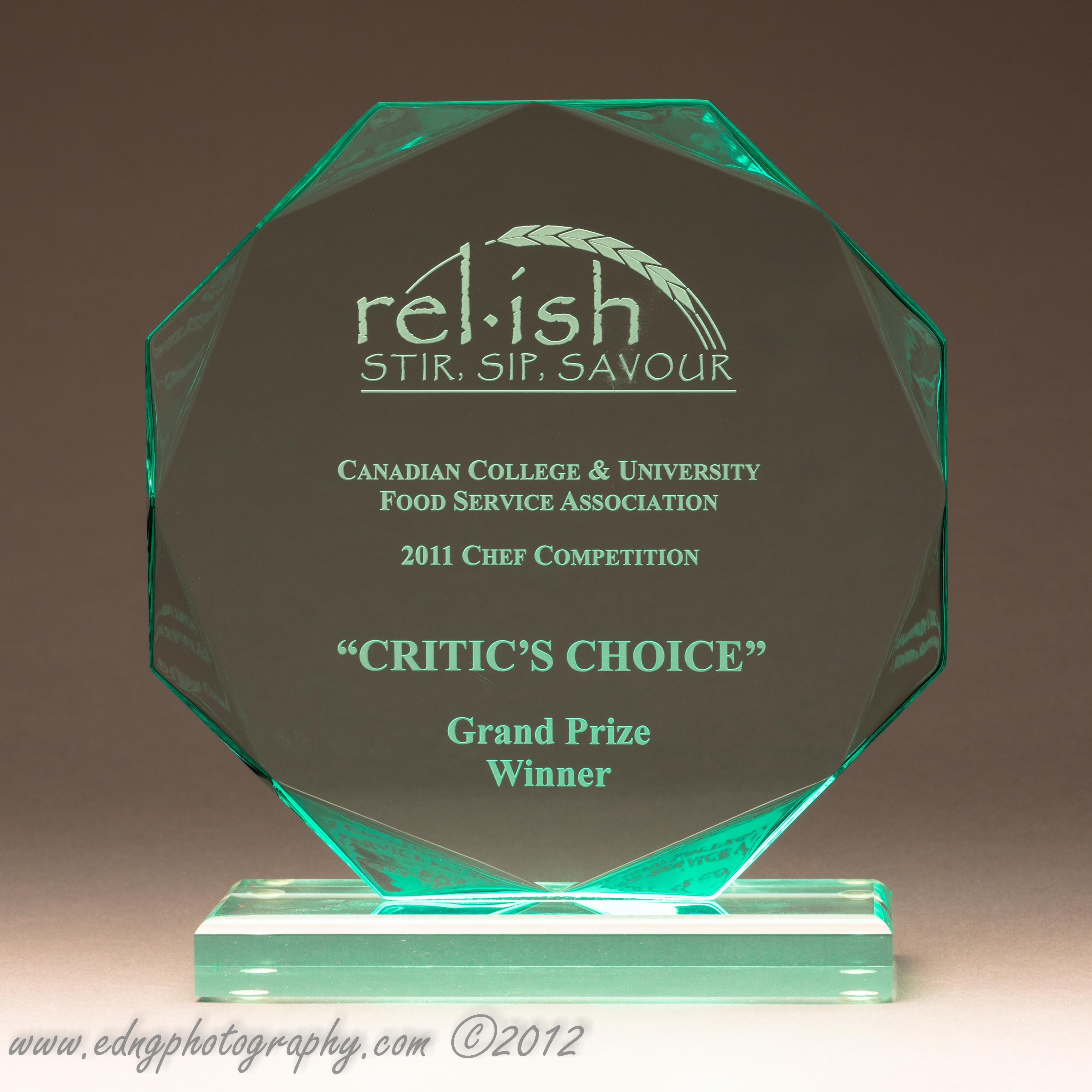 Culinary Award