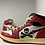 "Thumbnail: Custom Jordan 1 - ""Skull air Lava"""