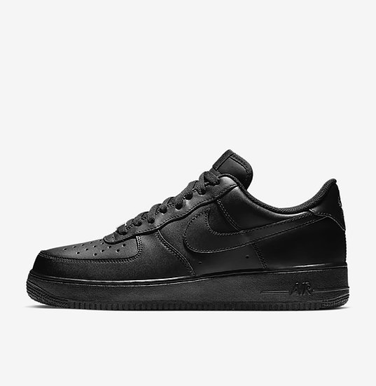 Mens Black Air Force 1 (Size has to be available on the Nike website)