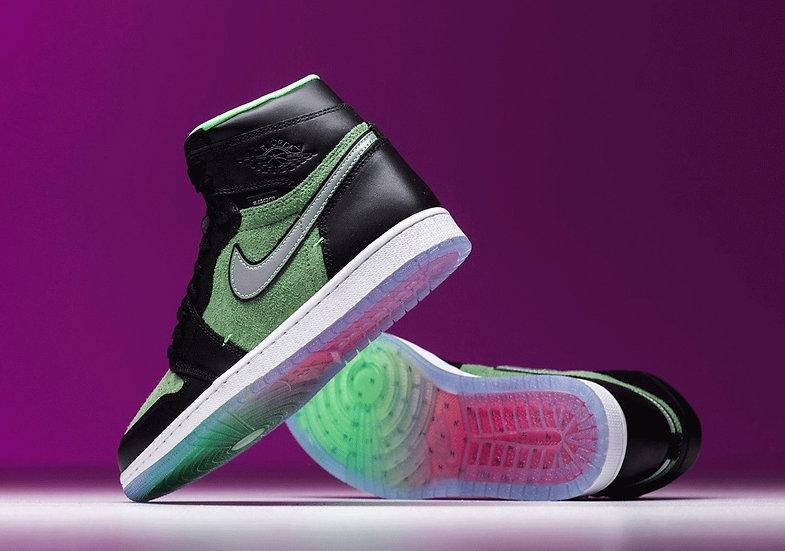 Jordan 1 zoom 'Zen green'