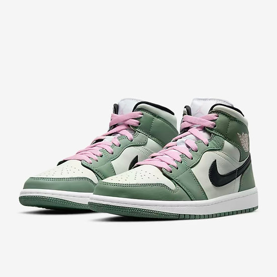 Jordan 1 mid Dutch green
