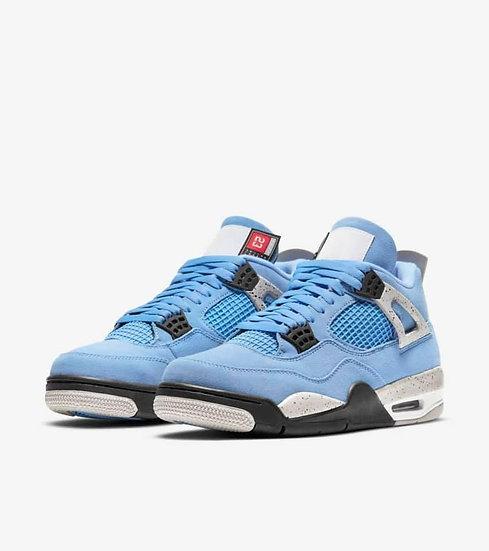 Jordan 4 'university blue'