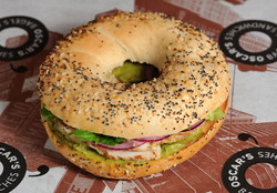 Bagel Chicken Avocado