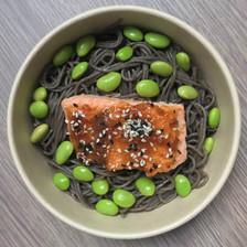 saumon laqué au miso