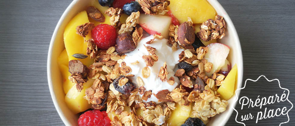 Dubble Superfood Dessert Fruits Granola Maison