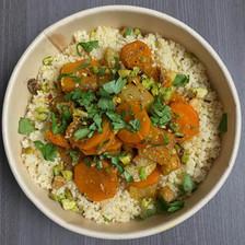 légumes grillés au raz el-hanout