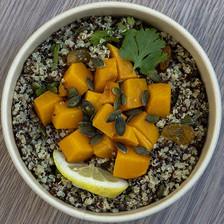 quinoa & courge butternut