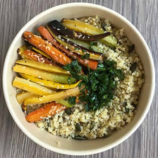 hot bowl veggie