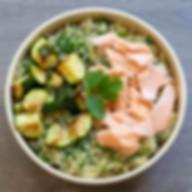 Quinoa Bowl Saumon