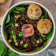 salad bowl légumineuses
