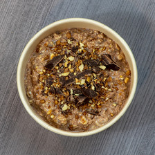 porridge chocopraline