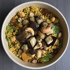 salad bowl quinoa au curry