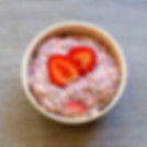 Porridge Fraises