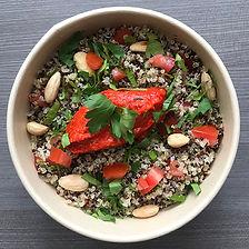 salad bowl trio de quinoa