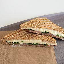 petit toasté jambon cru & mozzarella