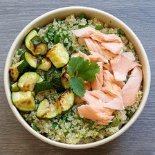 Quinoa Bowl Saumon