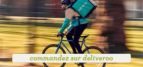 commander sur Deliveroo