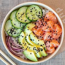 poke classique au saumon