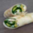 Wrap Courgettes Feta