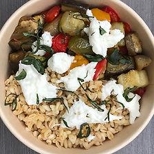 blé et légumes d'été
