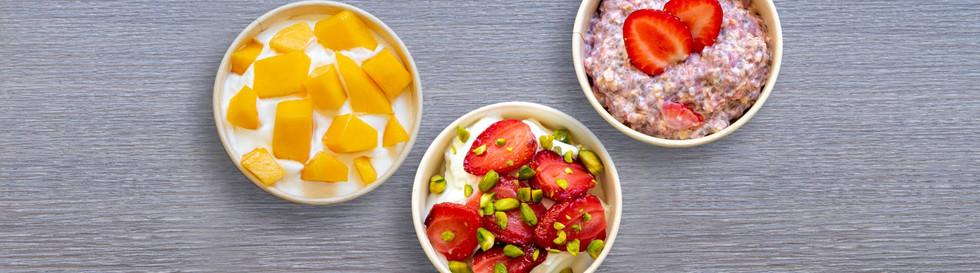 dubble, des recettes healthy préparées sur place avec des produits frais