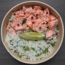 saumon mi-cuit au citron vert
