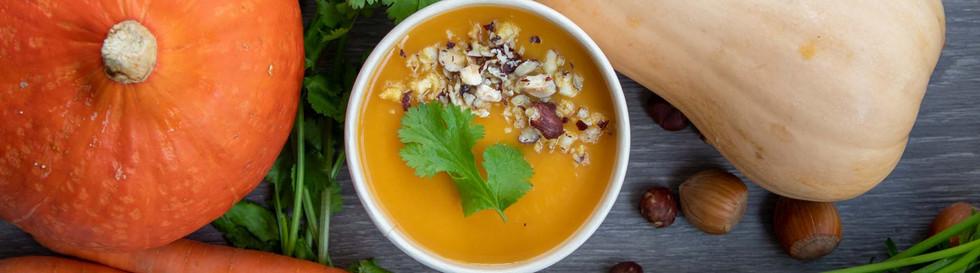 nos soupes de légumes