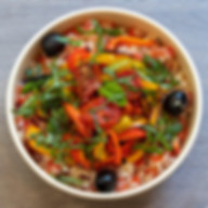 Quinoa Bowl Tomates & Poivrons