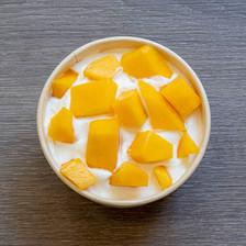 Crème coco à la mangue