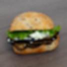Petit Sandwich Aubergines Feta